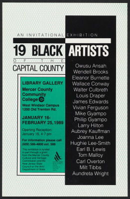 19 Black Artists of the Capital County