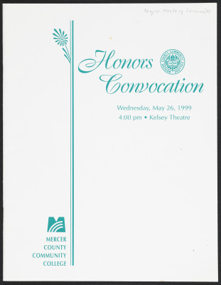 Honors Convocation Program